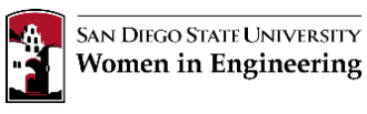 SDSU Women in Engineering logo